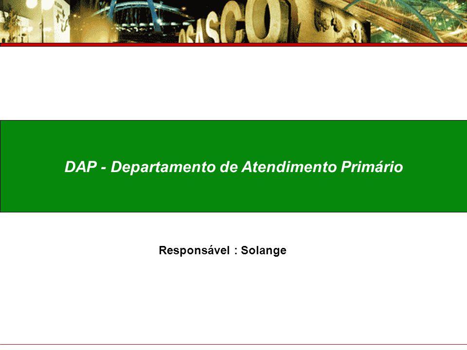 DAP - Departamento de Atendimento Primário