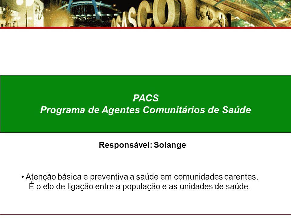 Programa de Agentes Comunitários de Saúde