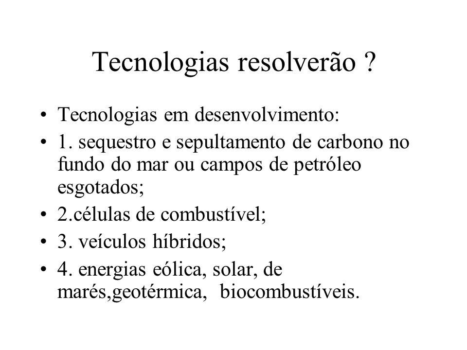Tecnologias resolverão