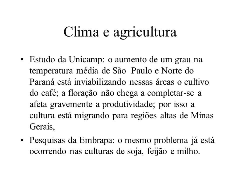 Clima e agricultura
