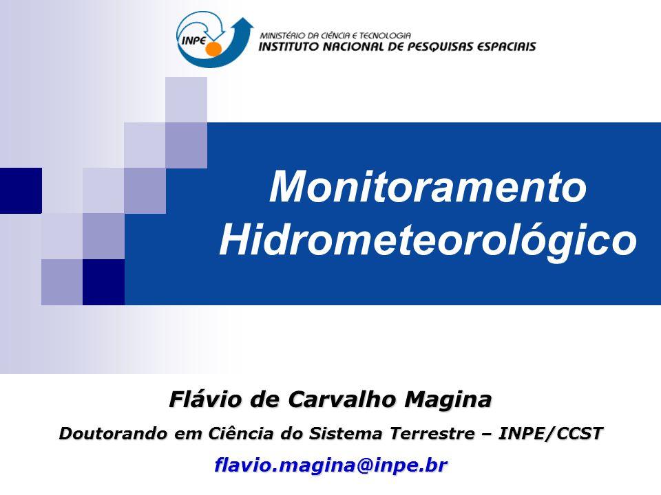 Monitoramento Hidrometeorológico