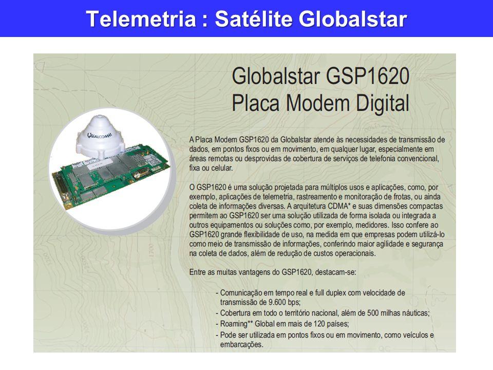 Telemetria : Satélite Globalstar