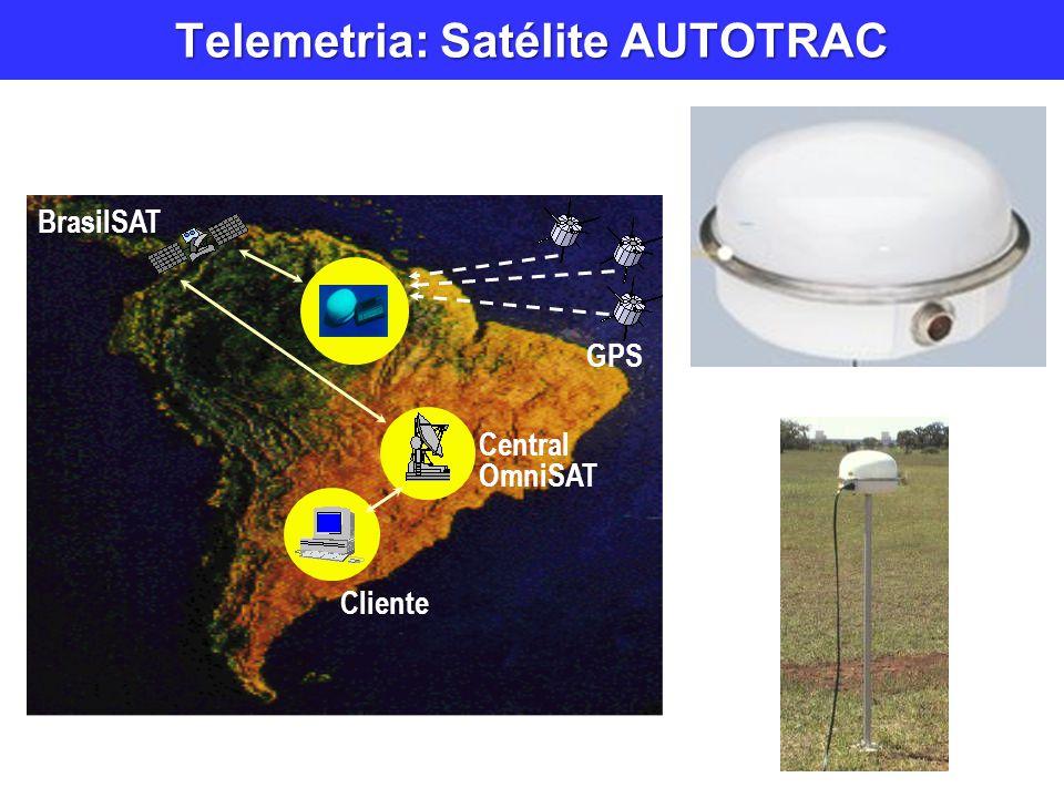 Telemetria: Satélite AUTOTRAC