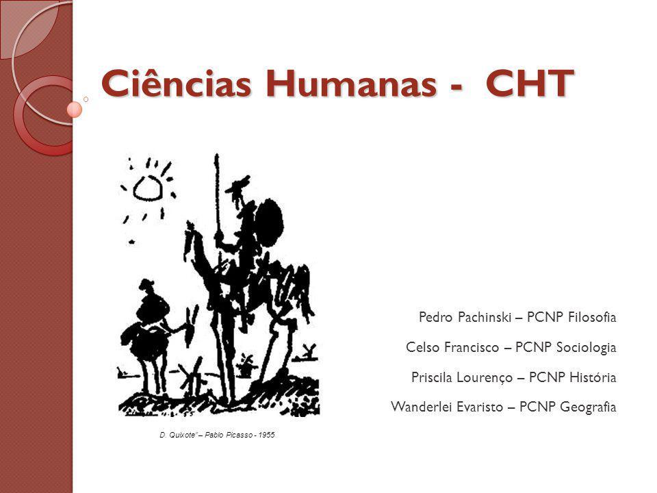 Ciências Humanas - CHT Pedro Pachinski – PCNP Filosofia
