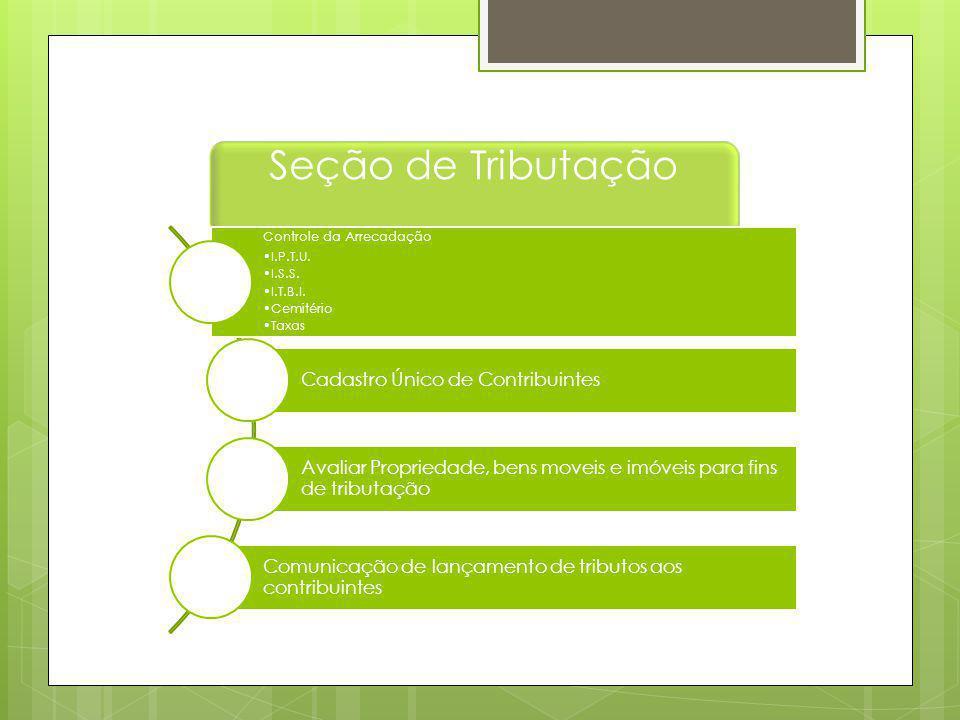 Seção de Tributação Cadastro Único de Contribuintes