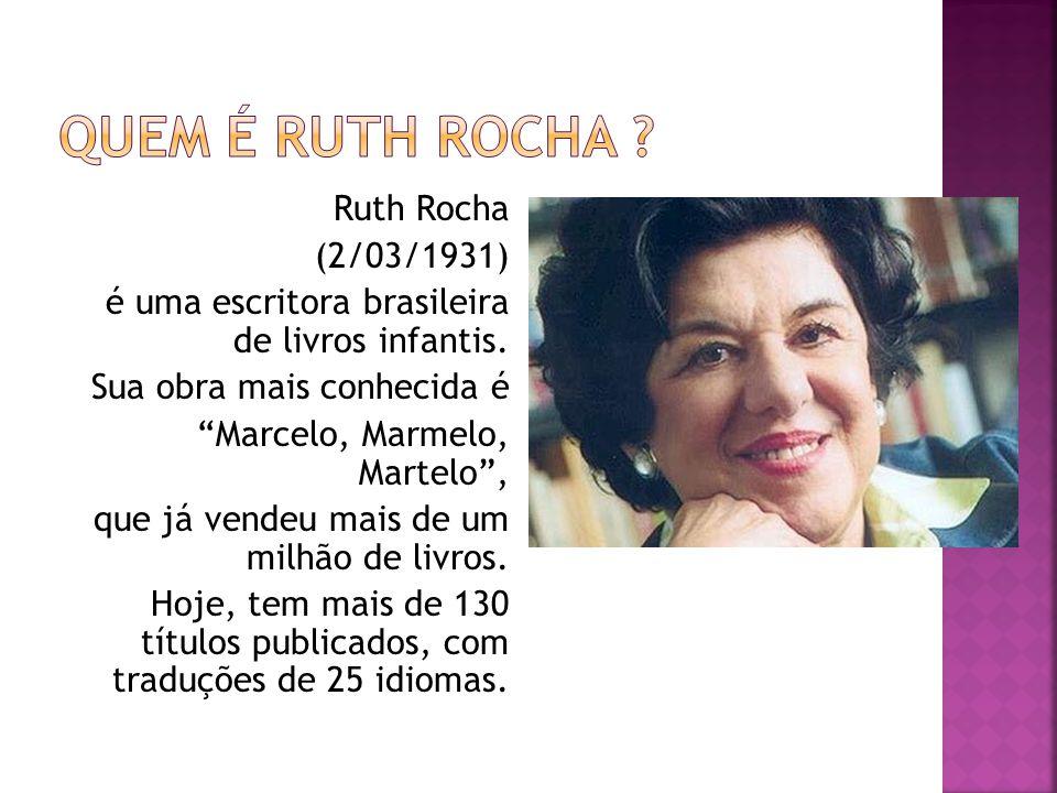Quem é Ruth Rocha