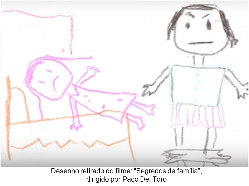 Desenho retirado do filme: Segredos de família , dirigido por Paco Del Toro