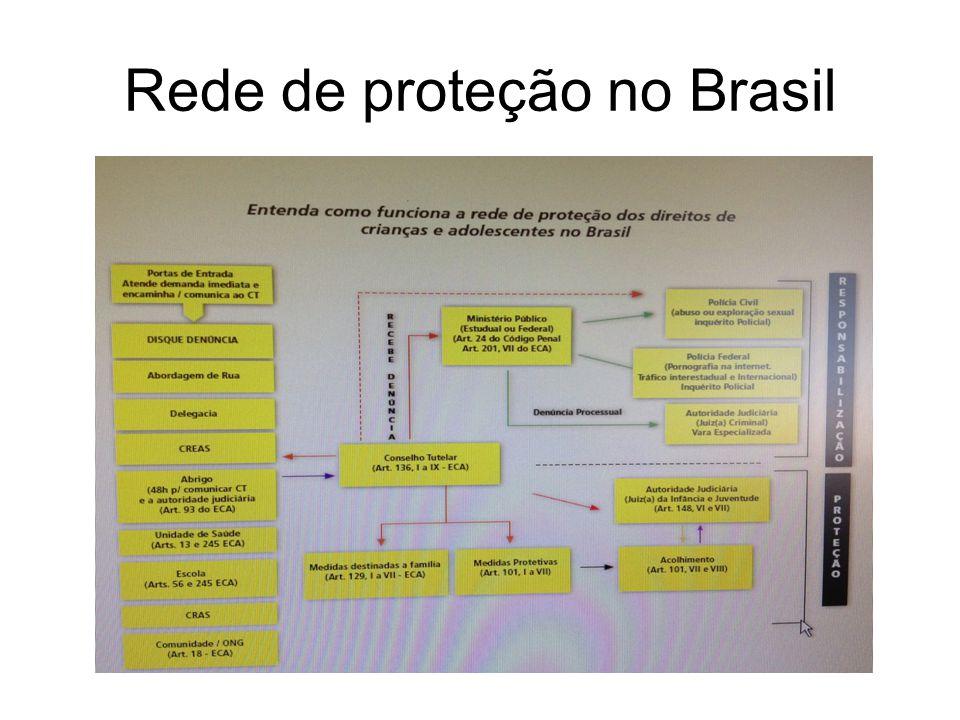 Rede de proteção no Brasil