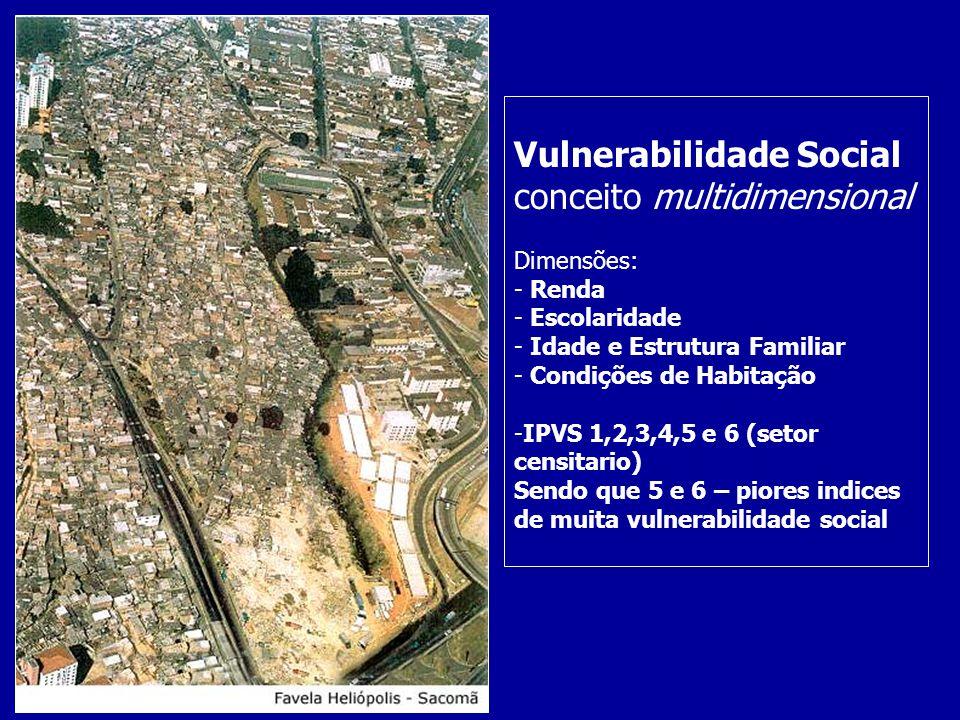Vulnerabilidade Social conceito multidimensional