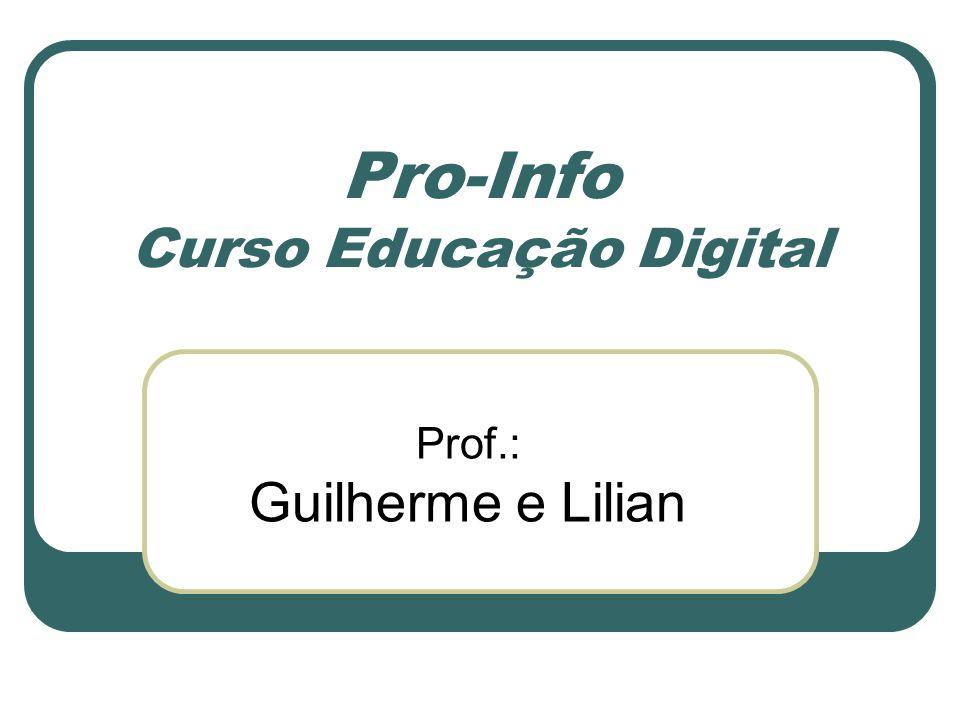 Pro-Info Curso Educação Digital