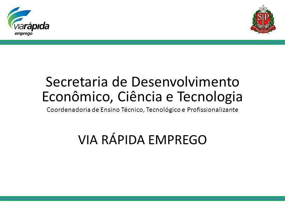 Secretaria de Desenvolvimento Econômico, Ciência e Tecnologia