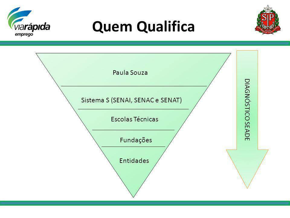 Quem Qualifica Paula Souza DIAGNÓSTICO SEADE