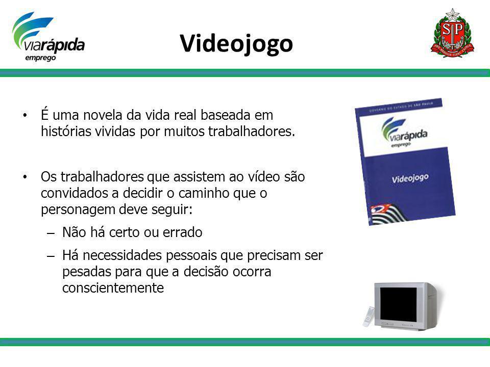 Videojogo É uma novela da vida real baseada em histórias vividas por muitos trabalhadores.