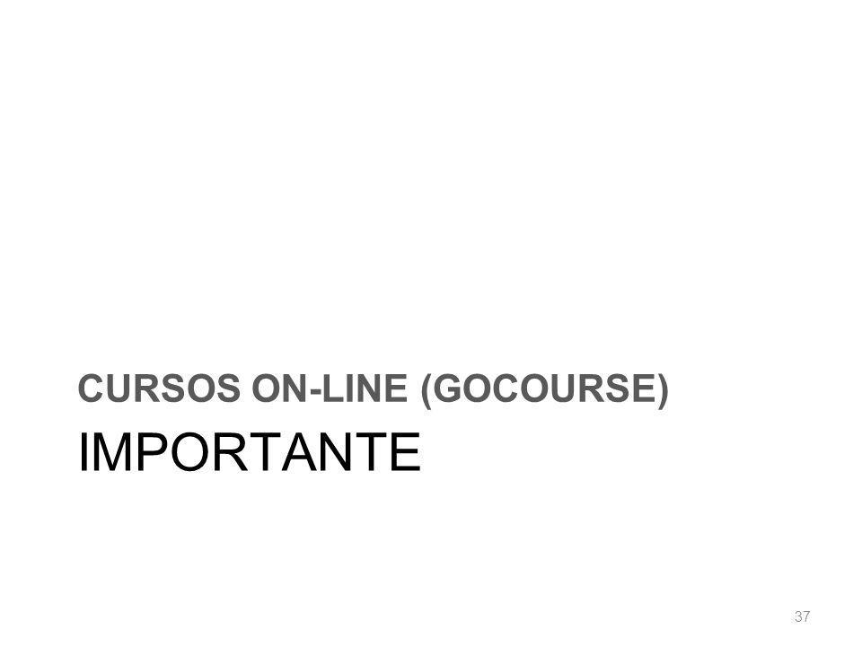 CURSOS ON-LINE (GOCOURSE)
