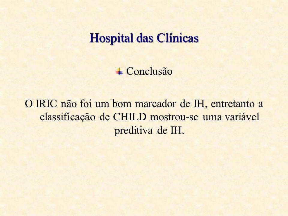 Hospital das Clínicas Conclusão