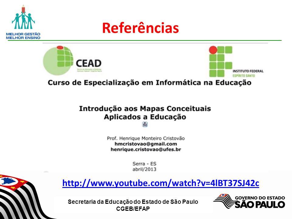 Referências http://www.youtube.com/watch v=4lBT37SJ42c