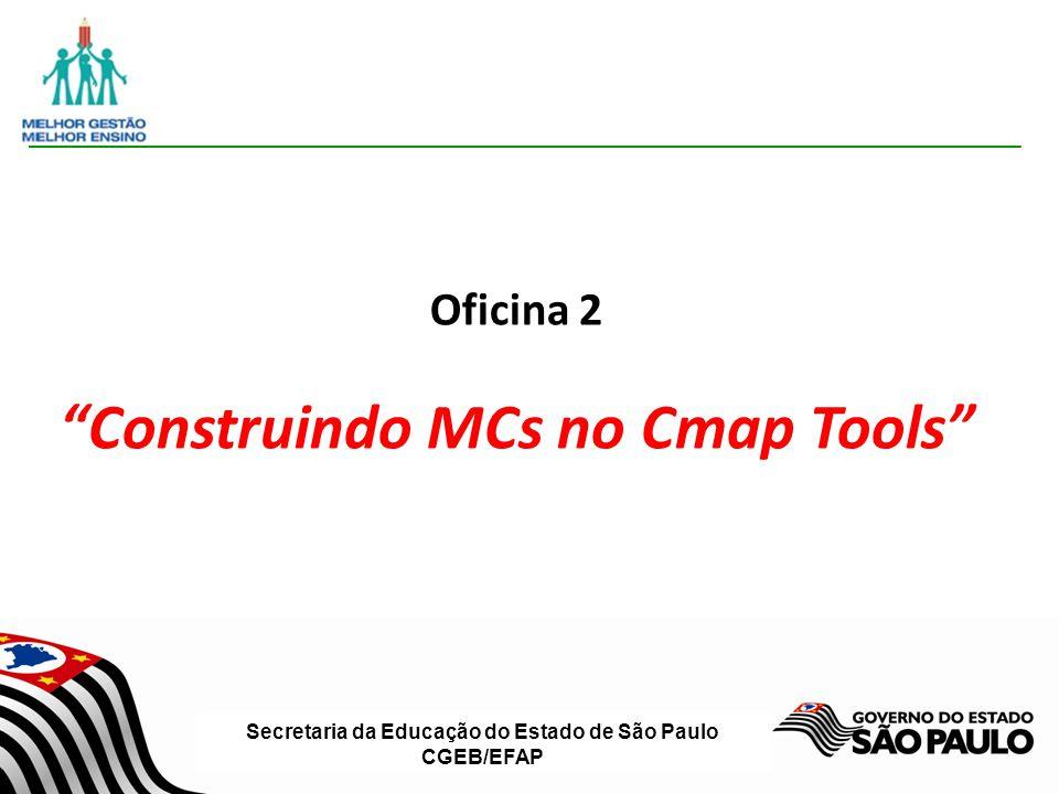Construindo MCs no Cmap Tools