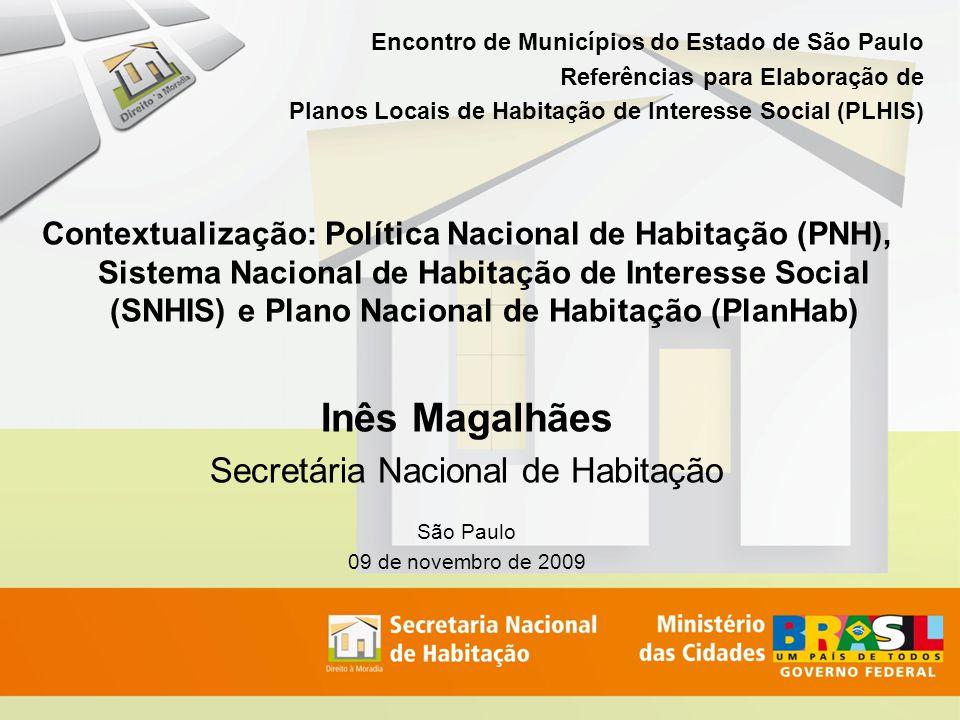 Secretária Nacional de Habitação