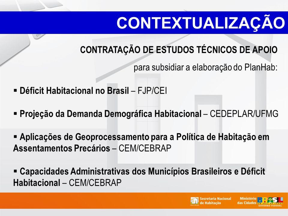 CONTEXTUALIZAÇÃO CONTRATAÇÃO DE ESTUDOS TÉCNICOS DE APOIO