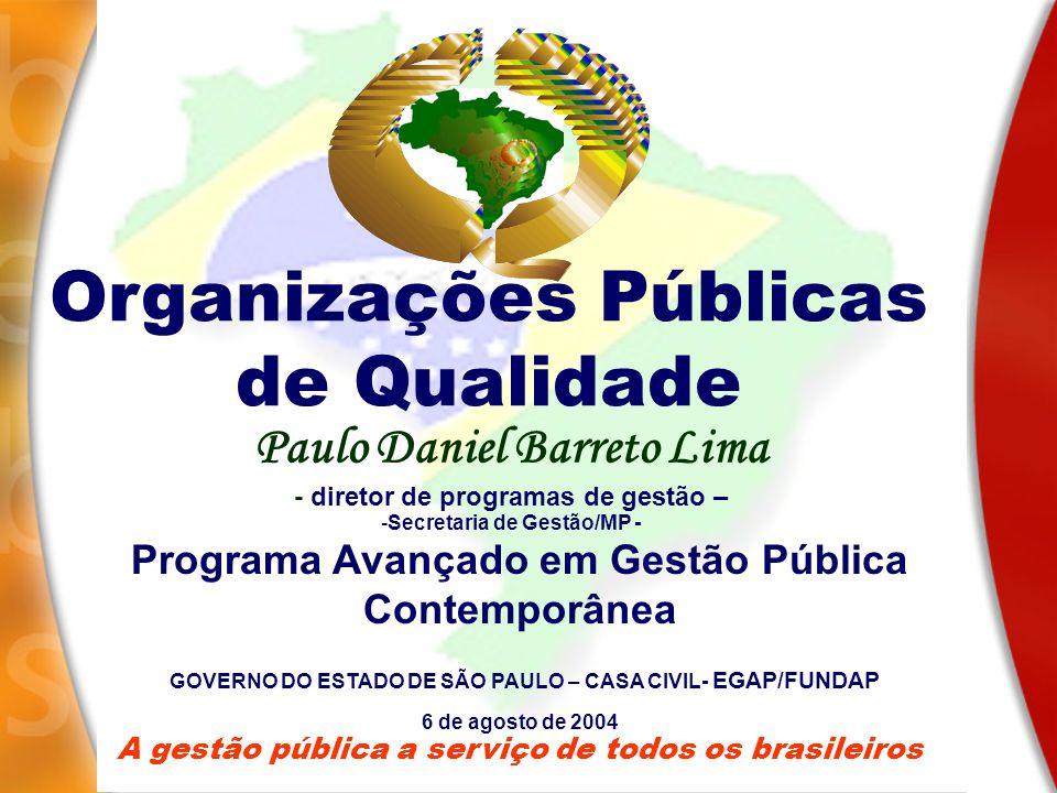 Organizações Públicas de Qualidade