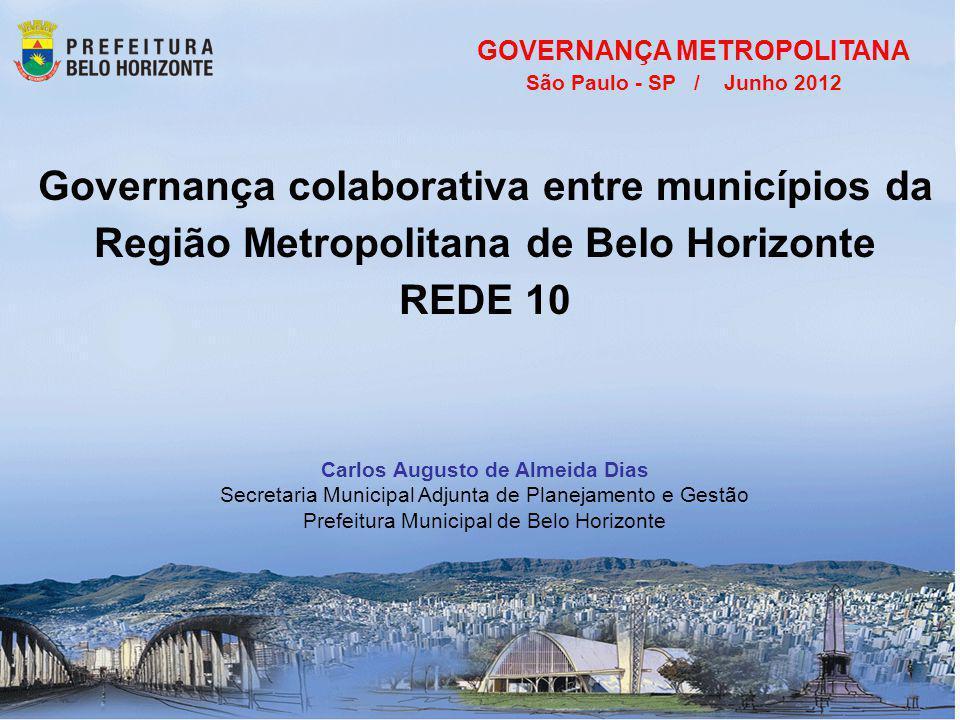 Governança colaborativa entre municípios da