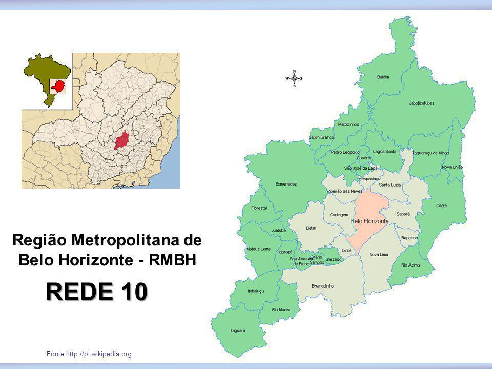 Região Metropolitana de Belo Horizonte - RMBH