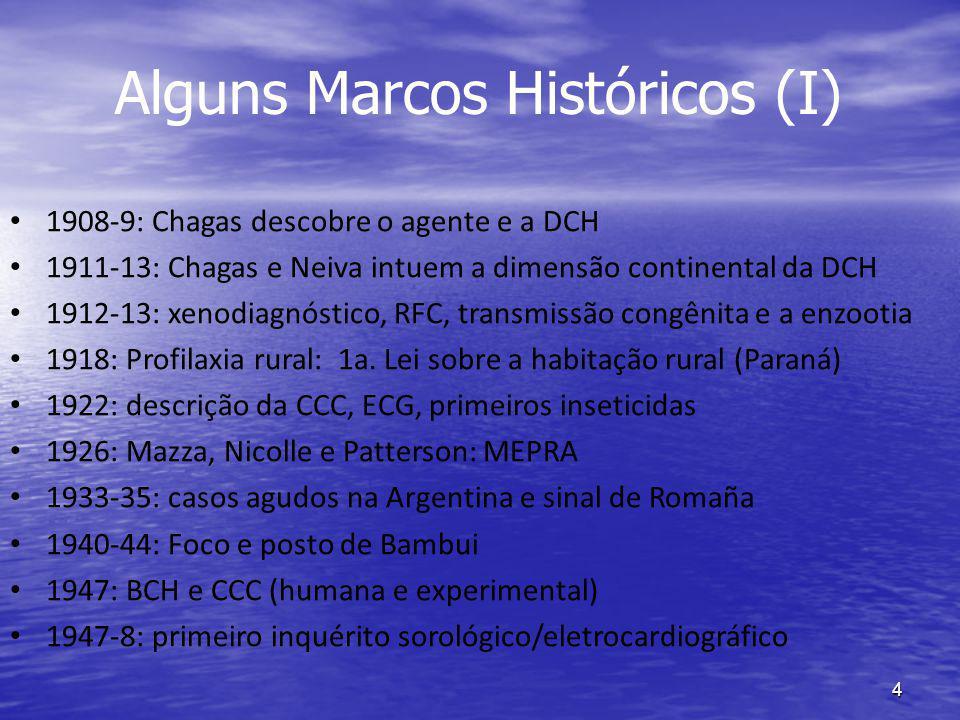 Alguns Marcos Históricos (I)