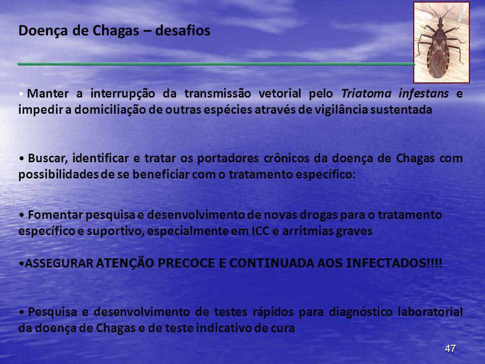 Doença de Chagas – desafios