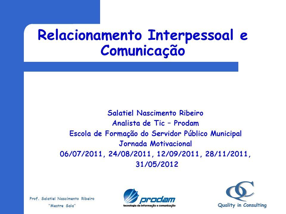 Relacionamento Interpessoal e Comunicação