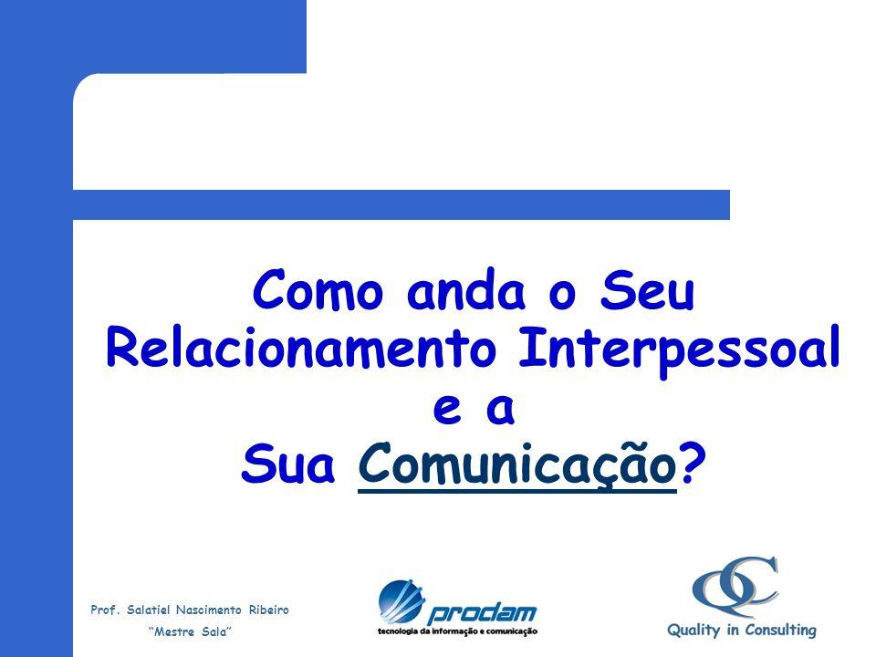 Como anda o Seu Relacionamento Interpessoal e a Sua Comunicação