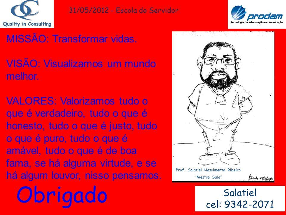 Prof. Salatiel Nascimento Ribeiro