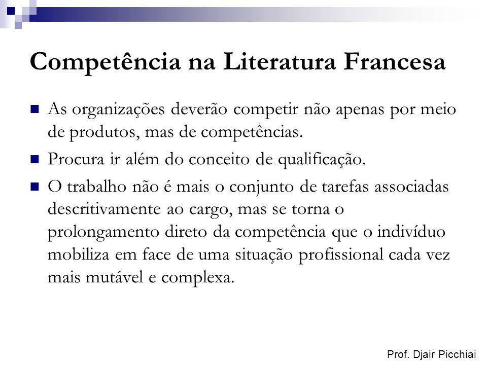Competência na Literatura Francesa
