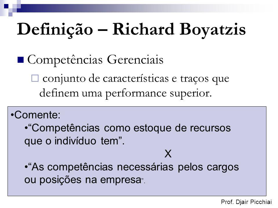 Definição – Richard Boyatzis