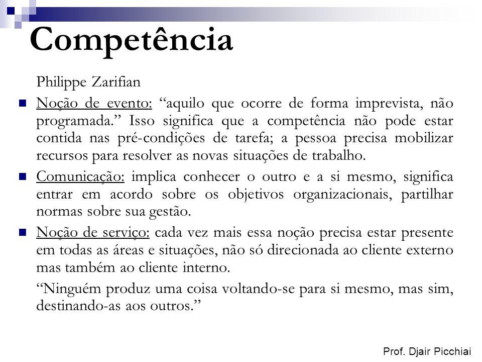 Competência Philippe Zarifian