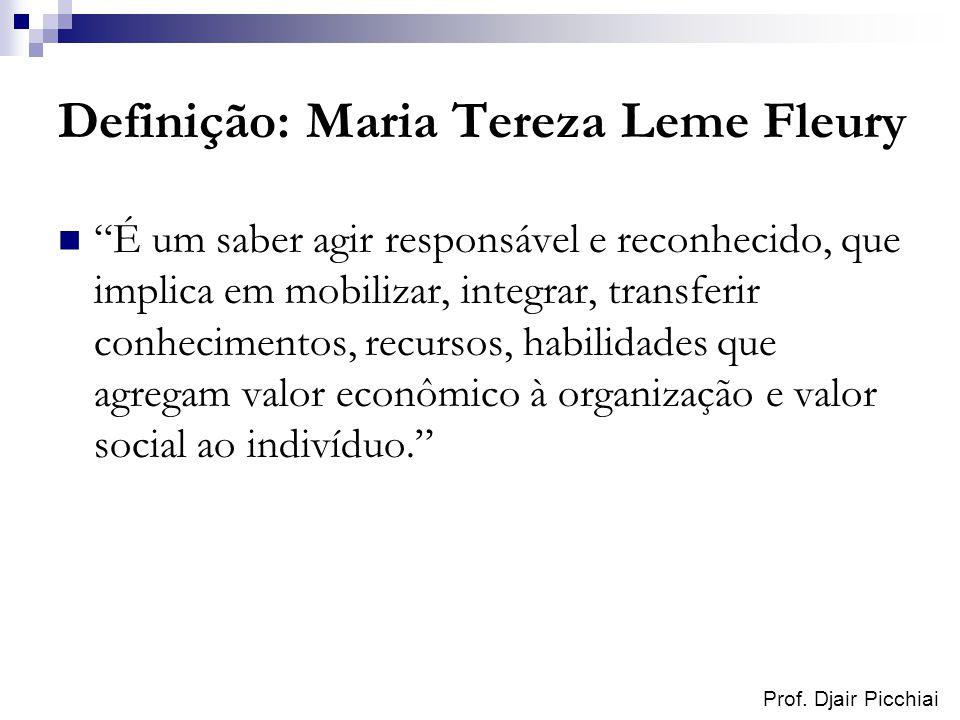 Definição: Maria Tereza Leme Fleury