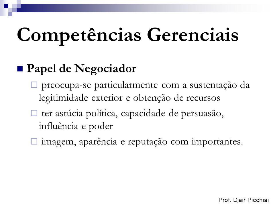 Competências Gerenciais