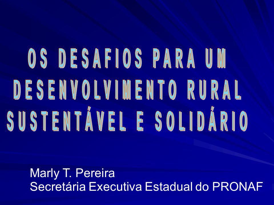 DESENVOLVIMENTO RURAL SUSTENTÁVEL E SOLIDÁRIO