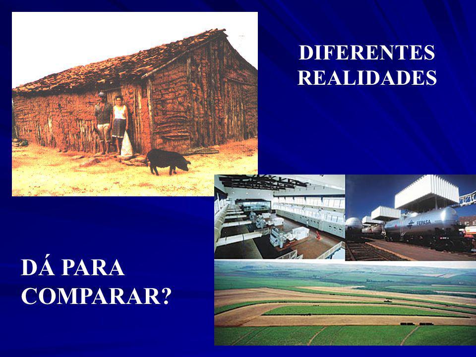 DIFERENTES REALIDADES DÁ PARA COMPARAR
