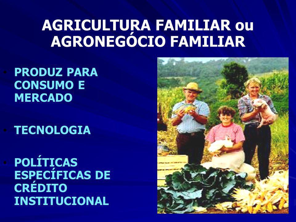 AGRICULTURA FAMILIAR ou