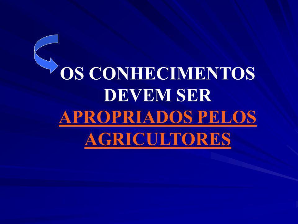 APROPRIADOS PELOS AGRICULTORES