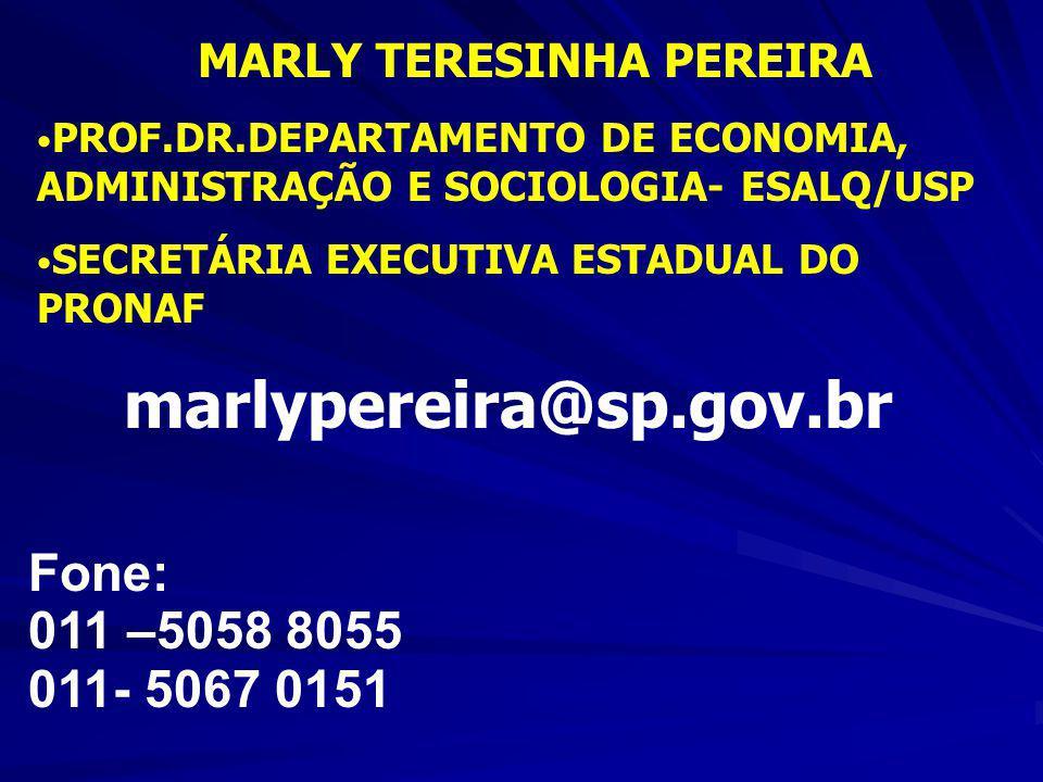 MARLY TERESINHA PEREIRA