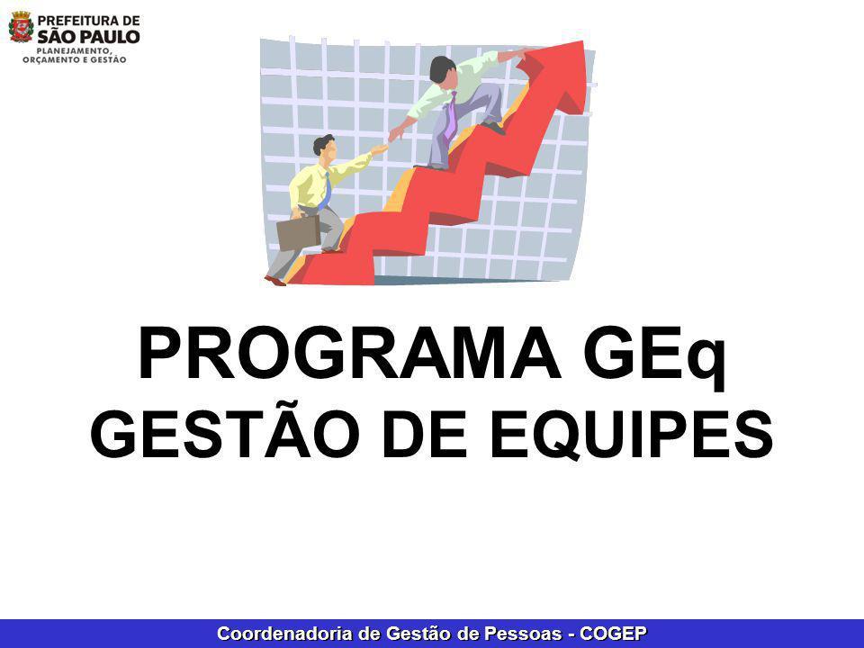 PROGRAMA GEq GESTÃO DE EQUIPES