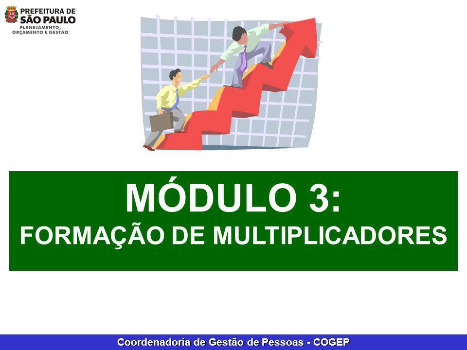 MÓDULO 3: FORMAÇÃO DE MULTIPLICADORES