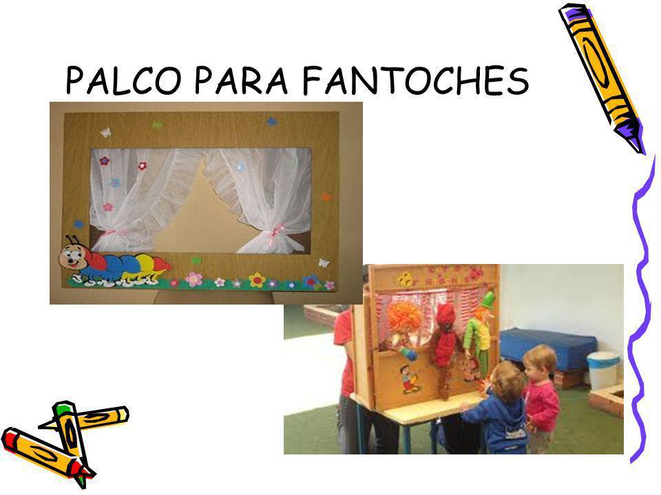 PALCO PARA FANTOCHES