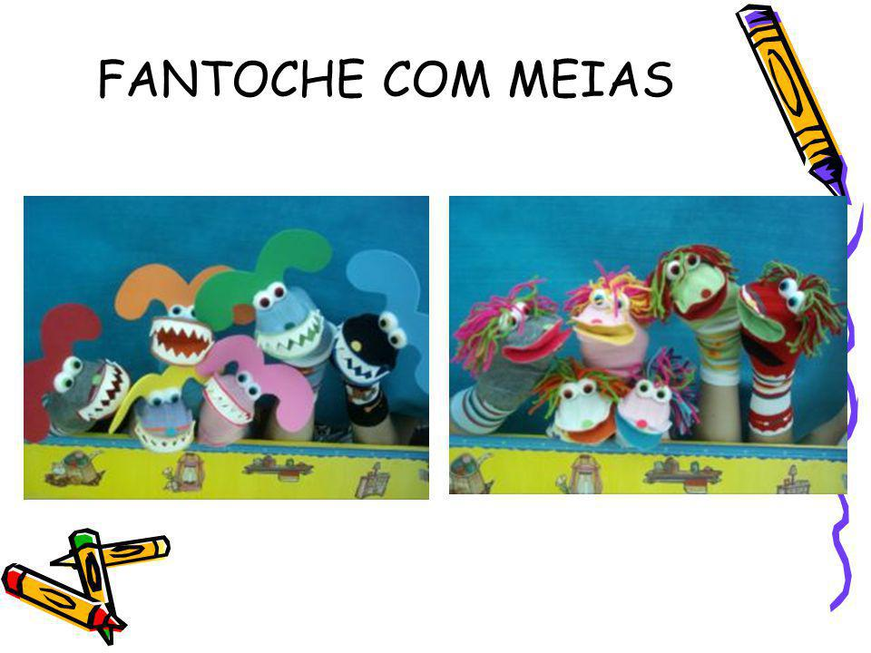 FANTOCHE COM MEIAS