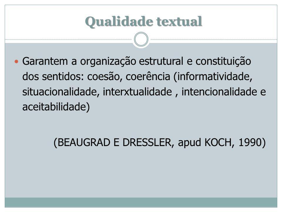 Qualidade textual