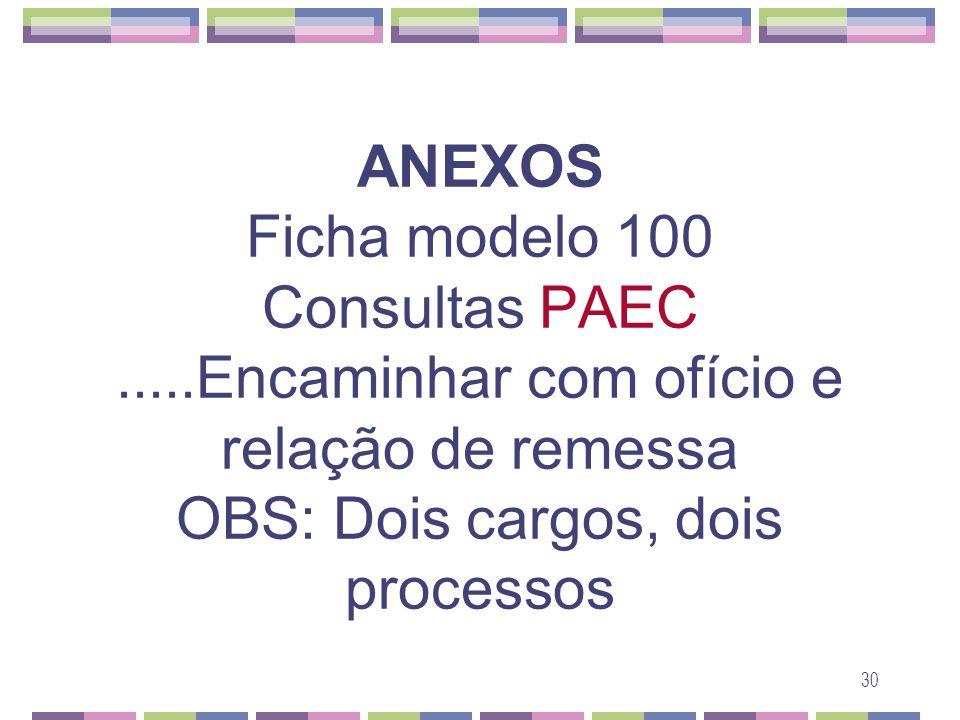 ANEXOS Ficha modelo 100 Consultas PAEC