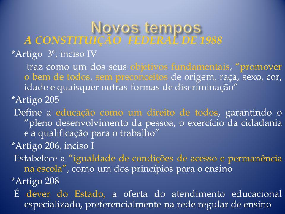 A CONSTITUIÇÃO FEDERAL DE 1988