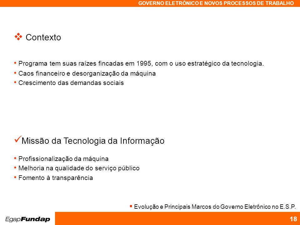 Missão da Tecnologia da Informação