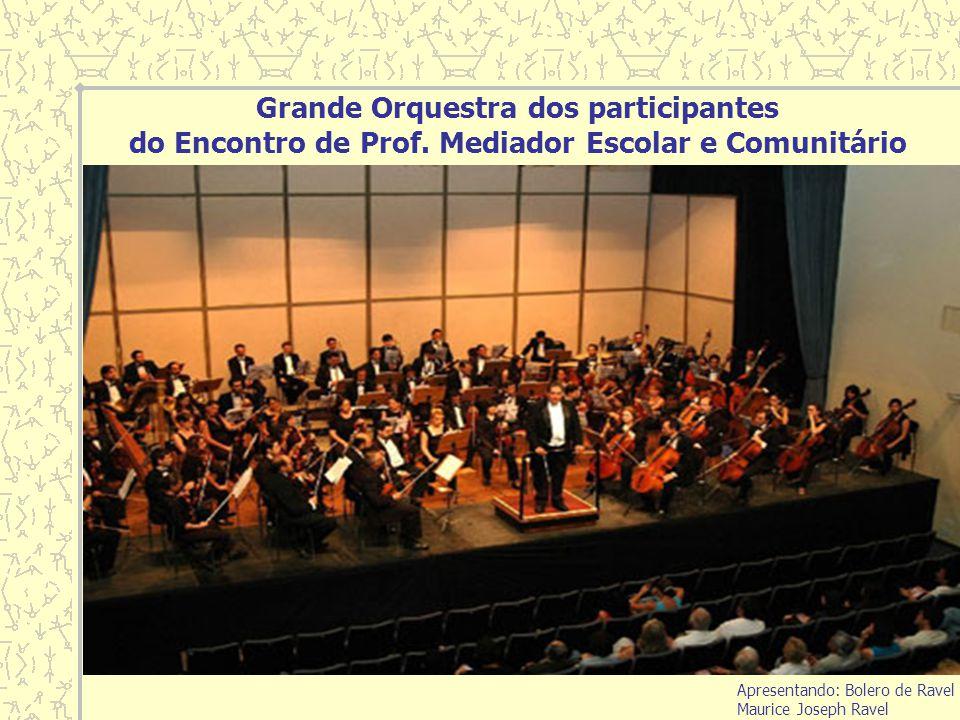 Grande Orquestra dos participantes